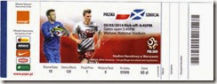 Poland vs Scotland stub
