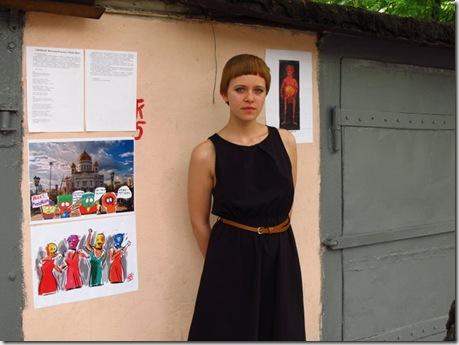 Белорусские художники поддержали Pussy Riot