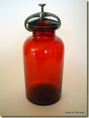 jar with clamp lid