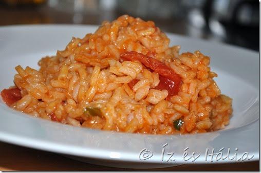 Rizottó, rizs