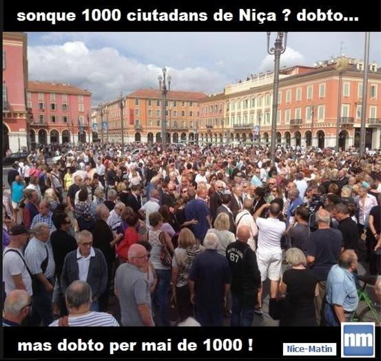 manifestacion de Niça setembre 2013