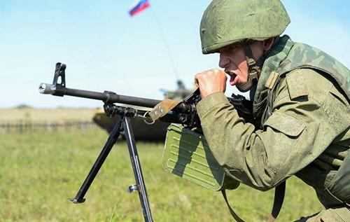 """""""Мирная миссия-2013"""": Фотографии российских военных"""