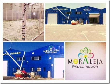 Nuevo Club Moraleja Padel Indoor en Humanes de Madrid. Inauguración 20 julio 2013.