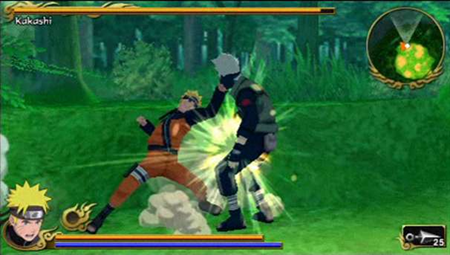 Free Download Naruto Shippuden Legends  Akatsuki Rising (English) PSP Game Rom