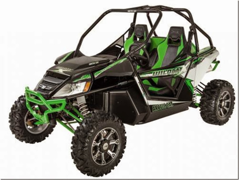 2013 Arctic Cat Wildcat X Green