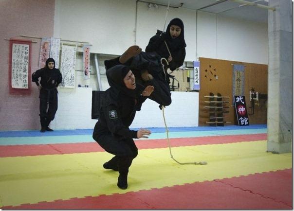 Mulheres iraquianas ninjas (2)