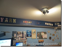 craft room makeover - The Backyard Farmwife