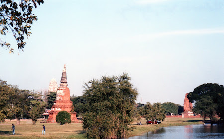 Obiective turistice Thailanda: parcul arheologic Ayutthaya