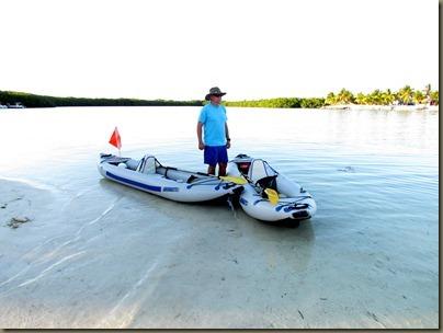 kayak launch at kayaking at Curry Hammock State Park