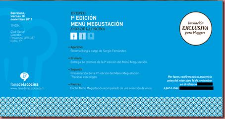 Evento Megustacion - fansdelacocina.com