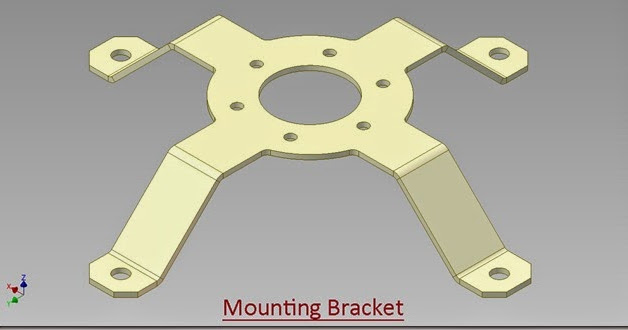 3d Solid Modelling Videos Mounting Bracket Autodesk