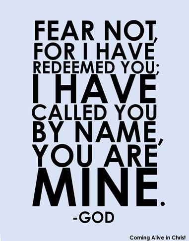 FEAR NOT.0