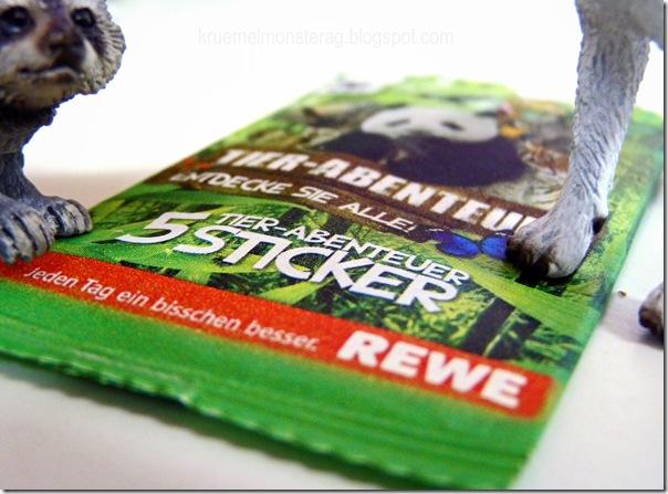 WWF Sticker zu verschenken