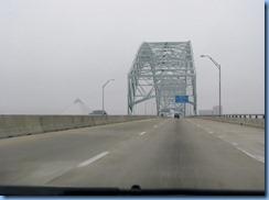 7431 Arkansas, West Memphis - I-40 East - Hernando de Soto Bridge and view of Pyramid in Memphis, Tennessee