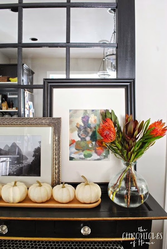 colorful modern traditional fall home tour 2