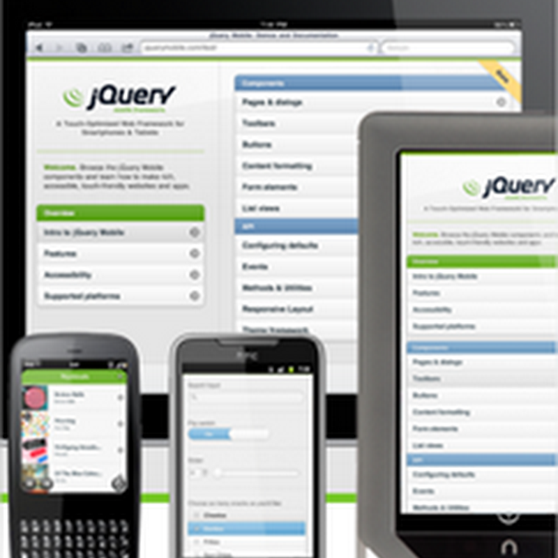 Primeros pasos con jQuery Mobile