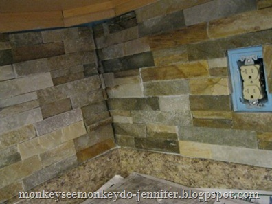kitchen backsplash corner