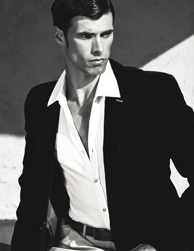 Charlie Wood @ Chosen/LA Models  by David Walden, 2011