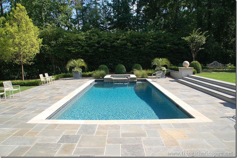 Things That Inspire: The pool design process