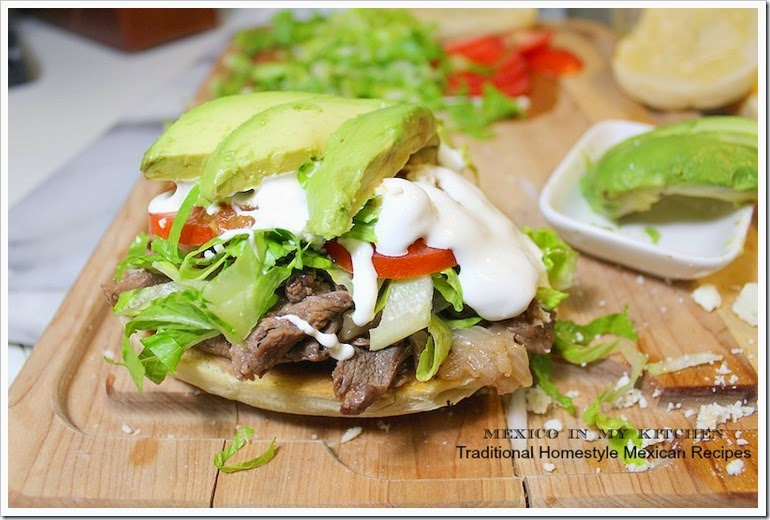 Steak Sandwich | Authentic Mexican Food Recipes