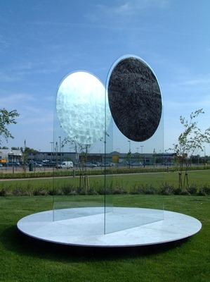 moon monumental sculpture