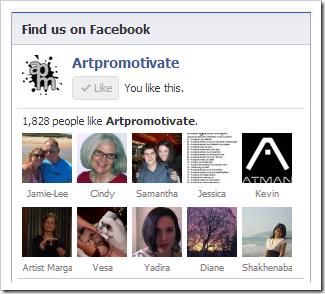 artpromotivate facebook page