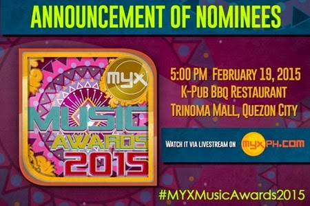MYX Music Awards Announcement