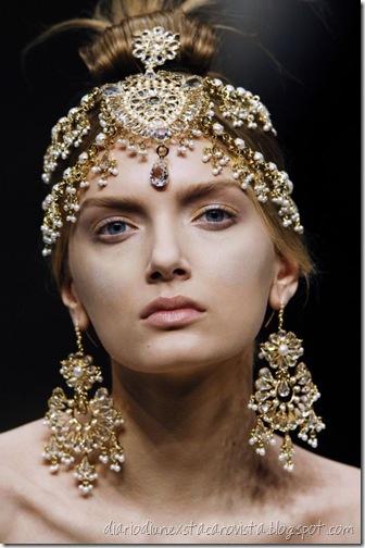 Lily Donaldson - Alexander McQueen Paris Fall 2008