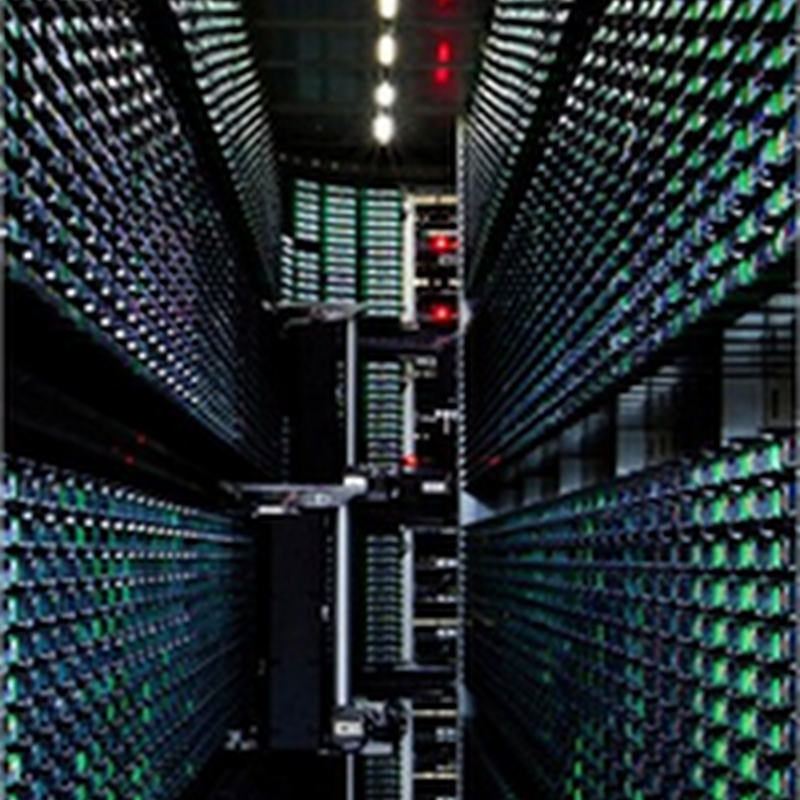 Impresionantes fotografías del Data Center de Google