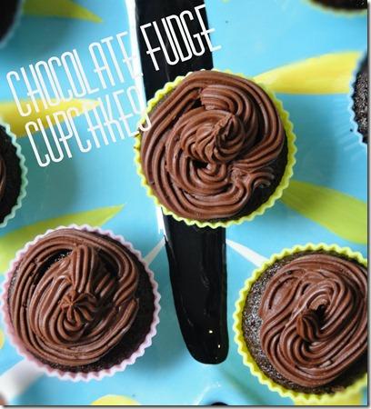 choc fudge cupcakes