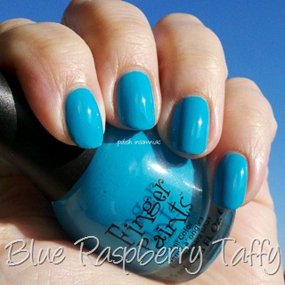 FingerPaints Blue Raspberry Taffy