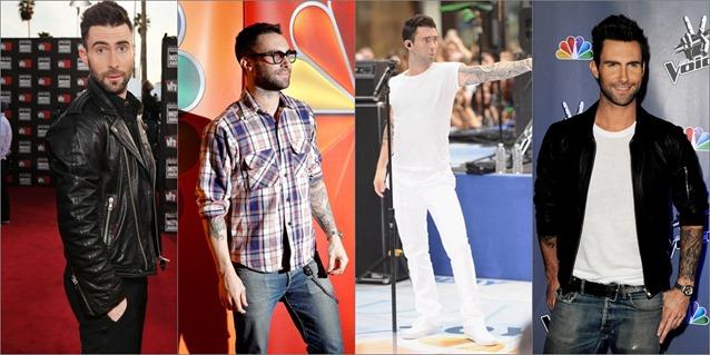 Celebrities Adam lavine