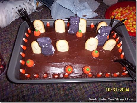 graveyard cake 2004