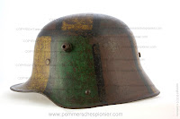 WW I Steel Helmet  with Camouflage