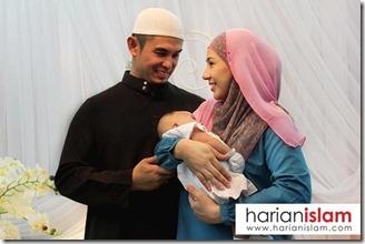 irma hasmie bersama anak dan suami 1