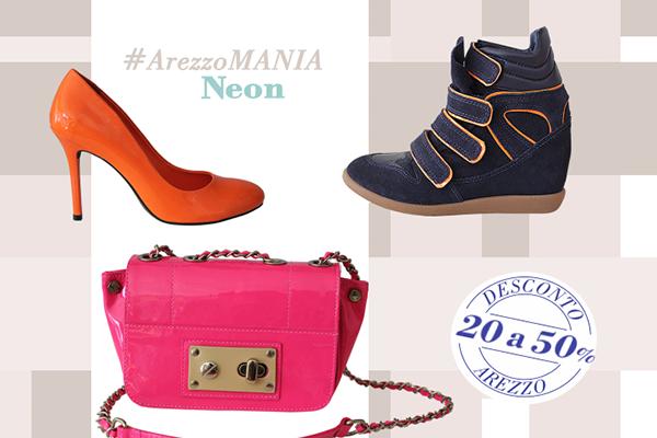 Liquidação AREZZO Hot Summer Week  (Verão 2013) – Bolsas e sapatos com até 50% OFF