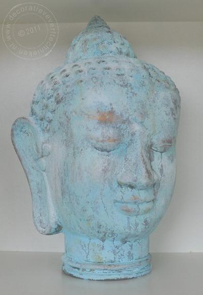 Boeddha verdigris effect