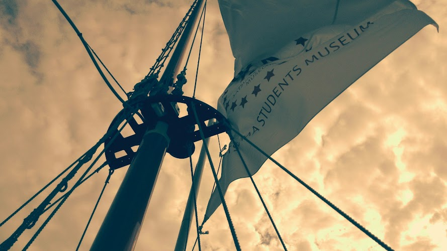 薩摩藩英国留学生記念館の旗