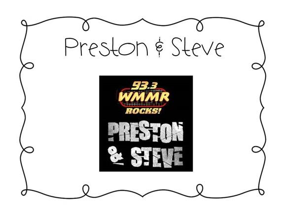 Preston and Steve