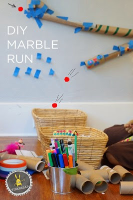 DIY Marble Run from Tinkerlab