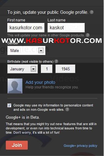Daftar Google + Plus Terbuka Untuk Umum
