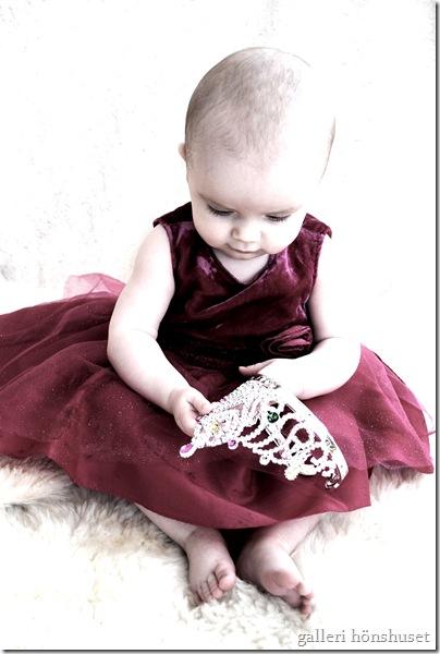 Lisa nästan 7 månader o svensk prinsessan e född! 005