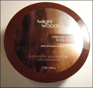 Twilight Woods Body Butter