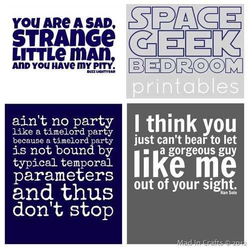space geek wall quotes