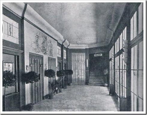 Interior del cine Capitol años 30