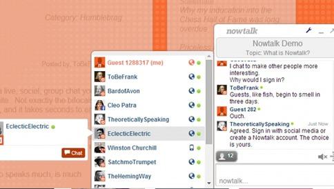 Agregar ventana de chat a tu página web