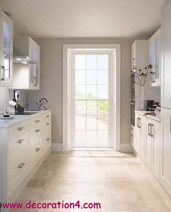Smart and small kitchen designs for small spaces - modern ideas