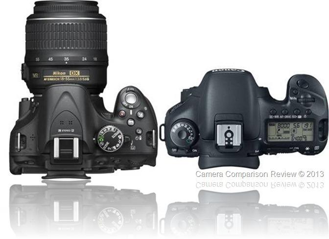 Nikon D5200 vs Canon 7D