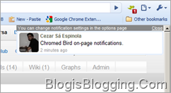 Chromed Bird Google Chrome extension