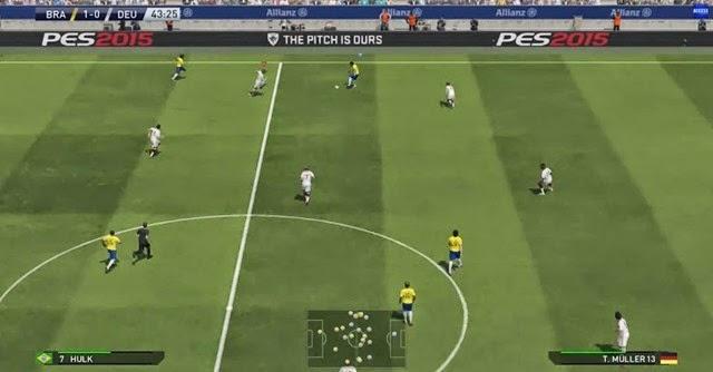 PES 2015 - Gameplay